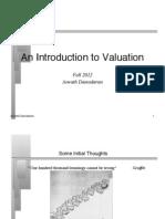 Valuation Intro.pdf