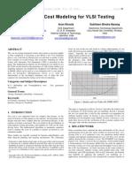 MATLAB Based Cost Modeling for VLSI Testing