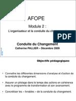 AFOPE Conduite Du Changement CPallier 0912 V2