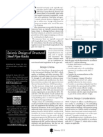 Seismic Design of Structural Steel Pipe Racks - Structure Magazine Feb 2012