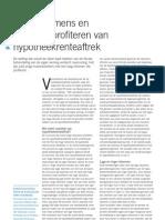 ESB - Lage Inkomens en Jongeren Profiteren Van Hypotheekrenteaftrek (2006)