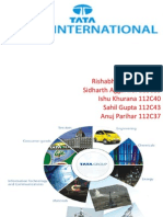 Tata International