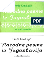 Djordje Karaklajic - Narodne Pesme Iz Jugoslavije