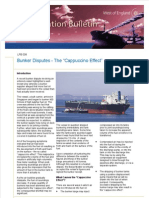 120814 Loss Prevention Bulletin - Bunkering - The Cappuccino Effect