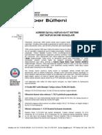 [TÜİK] - Adrese Dayalı Nüfus Kayıt Sistemi 2007 Nüfus Sayımı Sonuçları