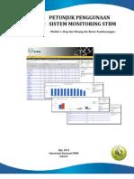 pedoman/panduan/petunjuk penggunaan sistem monitoring dan evaluasi program STBM