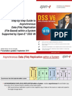 Open-E DSS V6 Asynchronous Data Replication Within a System