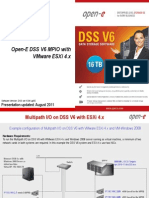 Open-E DSS V6 MPIO With ESX4i 4.1