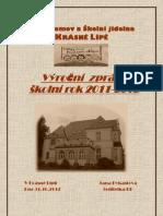 Výroční zpráva školní rok 2011-2012