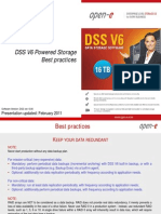 Open-E DSS V6 Powered Storage - Best Practices