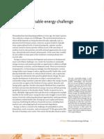 1.The Sustainable Energy Challenge