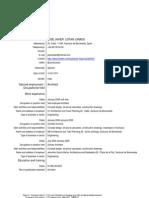 JAVIER LISTAN Resume + Portfolio+Drawings