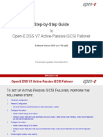Open-E DSS V7 Active-Passive iSCSI Failover