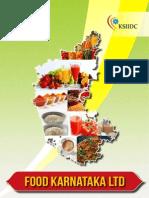 Karnataka State view,food industry,food industry