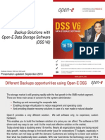Open-E Different Backups
