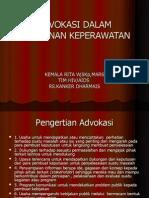 Advokasi Dalam Pelayanan Keperawatan Maret 07
