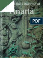 The Buddha's Doctrine of Anatta