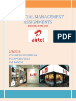 AIRTEL Assignment No 1