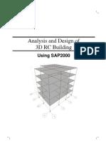SAP2000-Example 3D RC Building