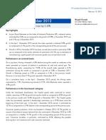 IIP Update, 12th February, 2013