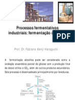 Aula 5 - Processos fermentativos industriais - Fermentação alcoolica