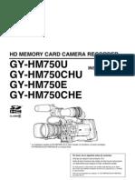 JVC GY-HM750 - Manual de instrucciones