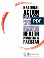 National Action Plan Ncds Pakistan