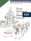 Colloque Parite 2005