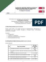 Descriere Post Conf Poz 17 -Dept Mng in Transp, MMG, LIT, MMT, MMP