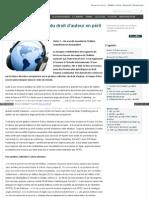 La gestion collective du droit d'auteur en péril - partie 2