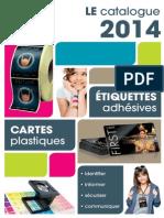 Catalogue Cartes Etiquettes 2014