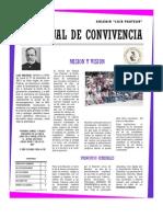 Pacto de Convivencia CLP 2013.