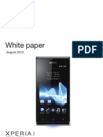Manual of Sony Xperia J