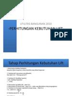 Materi Perhitungan Lift