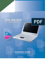 MS-1012IG Manual