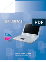 MS-1012IG Manual