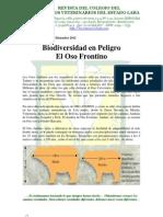 Biodiversidad en Peligro. El Oso Frontino