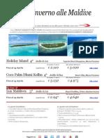 Alle Maldive con Press Tours inverno 2013  Offerte valide fino Al 29 Aprile 2013.