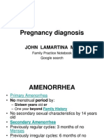 Diagnosing Pregnancy and Initial Evaluation - Dr. LaMartina[1]