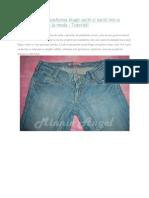 DIY Cum Sa Iti Faci Pantaloni Scurti
