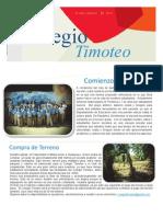 Carta de Noticias del Colegio