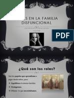 Roles en La Familia Disfuncional