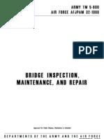 Army Tm 5 600 Air Force Afjpam 32 1088 Bridge Maintenance and Repair December 1994