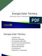 Energía Solar Térmica - ITR