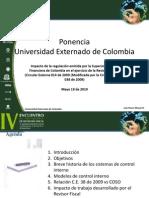Ppt Universidad Externado CIRCULAR 038