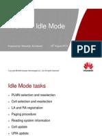 WCDMA Idle Mode