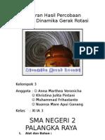 laporan percobaan dinamika gerak rotasi;kel.3;axiaga