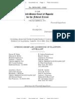 13-02-11 Oracle v Google Appeal Brief