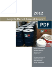 Recycle Depot - 2012 Annual Report