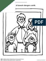 Warnakan Gambar Keluarga